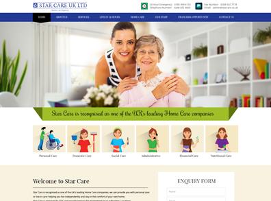 Website Design For Home Care Portfolio, Home Care Agency London ...